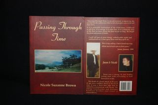 Passing through time book